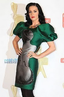 tv katy week perry logies 2011