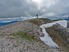 Escursionismo Alto Aterno - Monte Calvo dai piani di Cascina