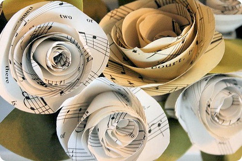 Sheet Music Rosettes