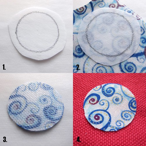 Iron Craft Challenge #18 - Lollypop Flower Bag