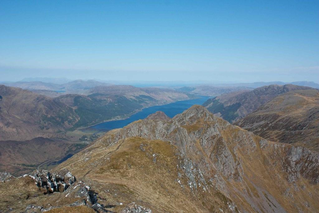 Loch Duich and Sgurr nan Saighead