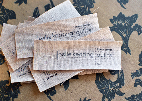 new quilt labels