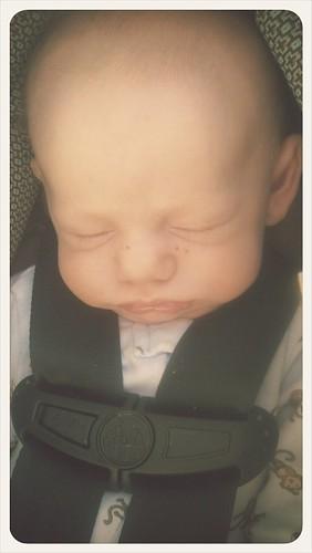 Elijah sleeping!!