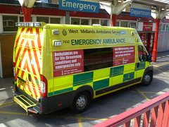 YN10AFV / 7432 West Midlands Ambulance Service Fiat Ducato 40 Maxi A&E DCA at University Hospital Of North Staffordshire, Stoke on Trent (Trojan631) Tags: las blue coastguard west london art ford dogs geotagged fire sussex volvo airport interesting brighton traffic pov south 911 police surrey ambulance led east explore nhs transit brc terrorism dna operations service emergency incident paramedic 112 v50 gatwick scania 2012 999 crawley taser fordfocus v70 firerescue lgw so19 rpu 2011 constabulary policing britishredcross arv publicorder s44 rrv wsfrs majax co19 rapidresponsevehicle secamb metpol suspol esfrs trojan631 majorincidentrapid responseroads