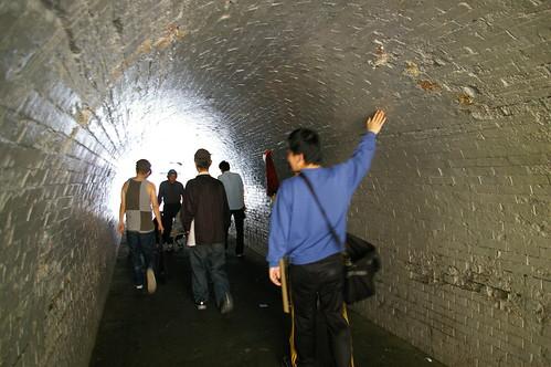 ずっと昔からのトンネル