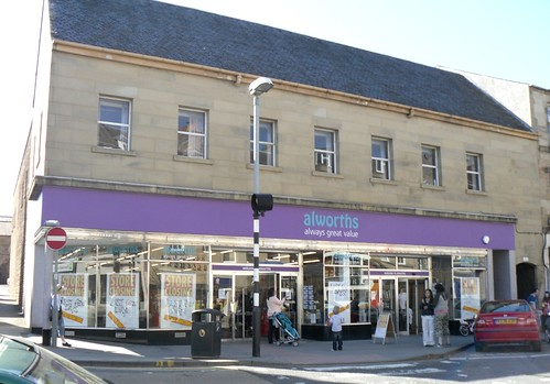 Former Woolworth's in Cupar, Fife