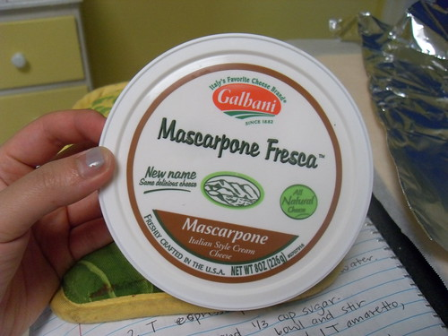 Mascarpone Cheese for Tiramisu Cake