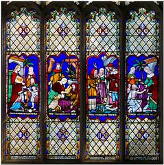 St Mary's Church - Bungay (Maria-H) Tags: uk england church suffolk stainedglass panasonic pancake 20mm stmarys f17 bungay gh2 dmcgh2