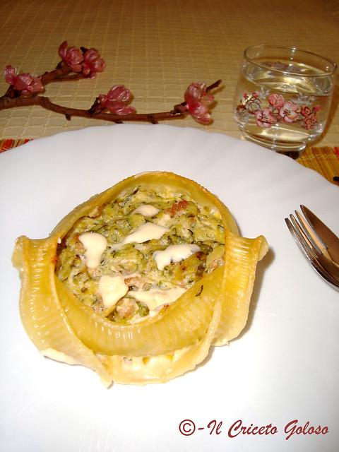 Caccavelle con zucchina e salsiccia 2