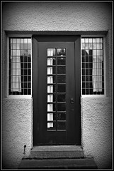 The Back Door (sfPhotocraft) Tags: door window scotland backdoor charlesrenniemackintosh mackintosh 2011 foghtrip