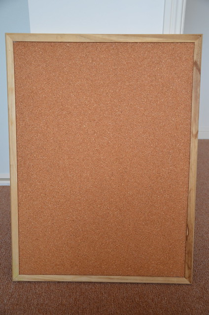 Corkboard - Before