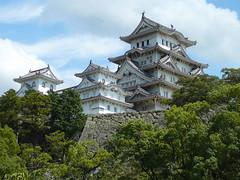 Japonsko: samurajský hrad Himedži, Hirošima <br>a torii u ostrova Icukušima