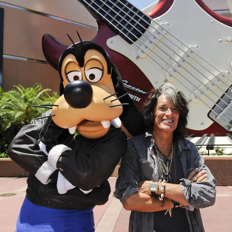 Joe Perry of Aerosmith Rocks with Goofy and Guests