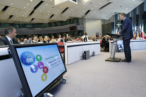 Opening session : Resource scarcity : challenges , drivers and EU responses