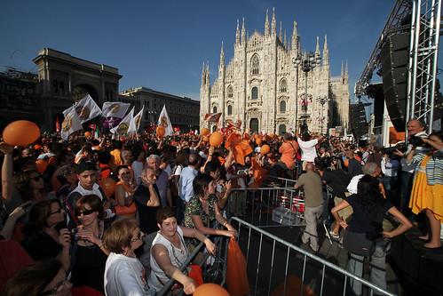 Milan Celebrates Pispia Victory