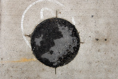 Circle # 147 - May 28, 2011 (collations) Tags: toronto ontario concrete pavement lookdown accesscircles pavementdetails