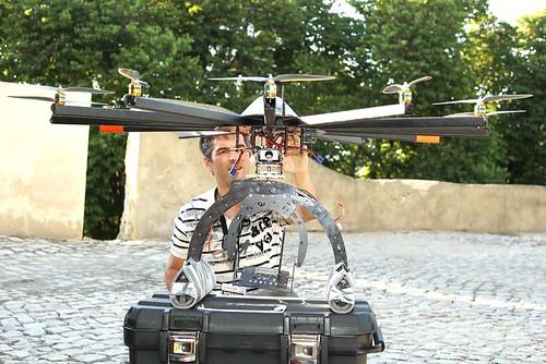 Ignacio et son helicoptère