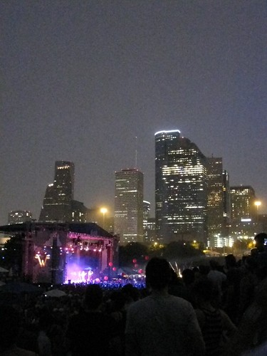 Downtown skyline beyond Summerfest