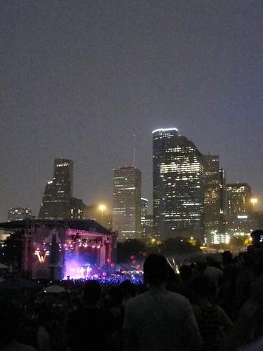 Downtown skyline beyond Summerfest