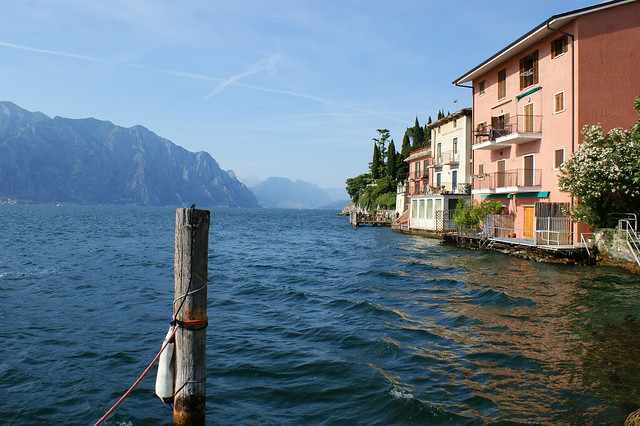 View from Jetty, Malcesine, Lake Garda