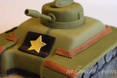 Military Tank Cake - 8