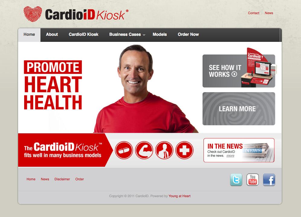Cardio ID Kiosk Site