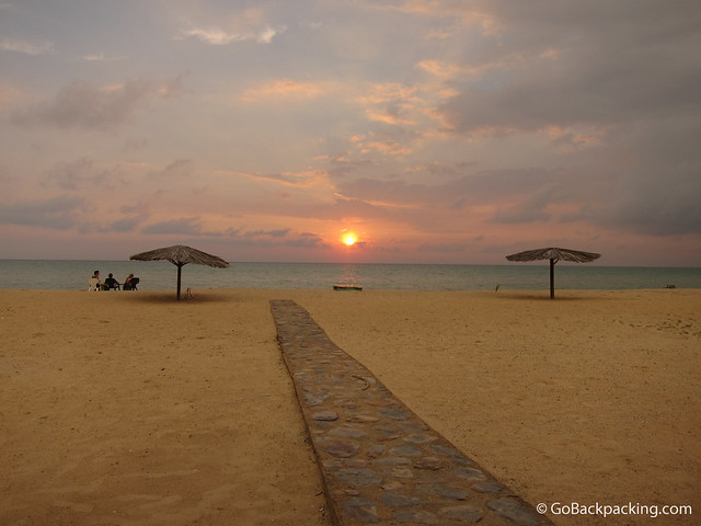 Sunset in Cabo de la Vela