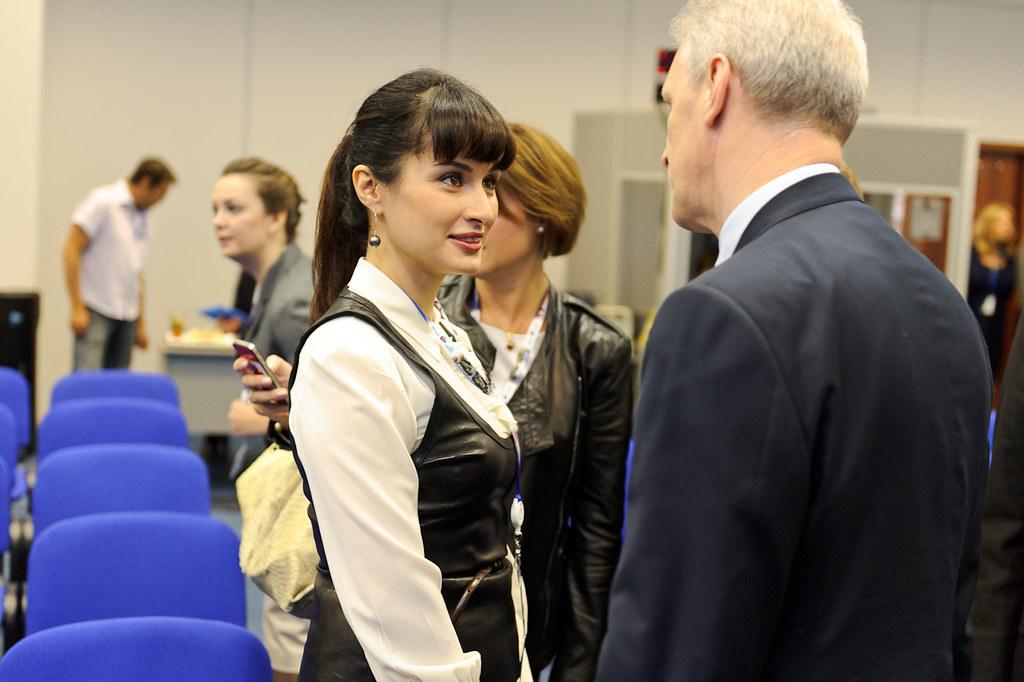 Тина Канделаки и Андрей Фурсенко