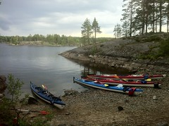 Midsummer 2011 (Anu Leponiemi) Tags: midsummer canoeing iphone roadcam lepo