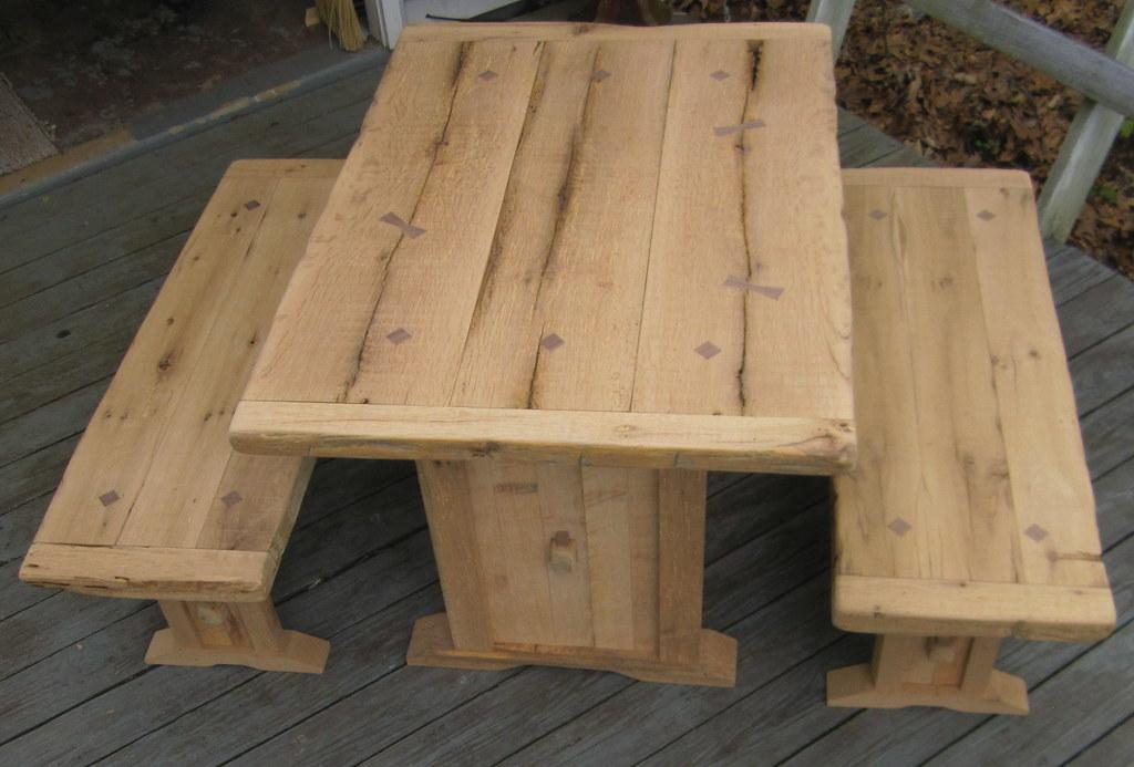 Farm TAble Rustic Reclaimed Wood