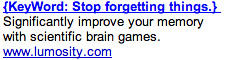 Memory Games - Ad #1