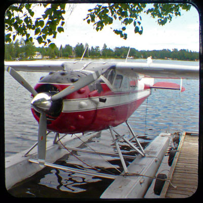 red float plane by valcox