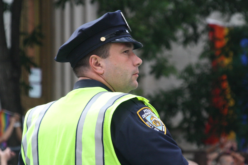Lesbian bound cops