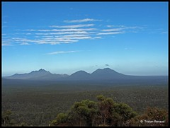 Memory of an aboriginal dream (__Tristan__) Tags: voyage trip travel sky mountain clouds forest landscape countryside stirling australia journey westernaustralia
