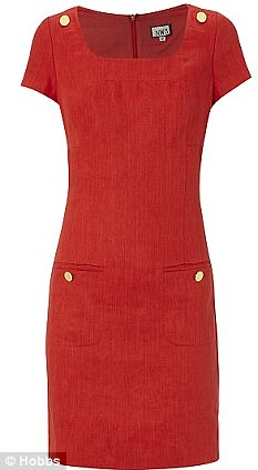 Pippa now rivals Kate in selling power as £129 red Hobbs dress sells out  2