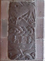 Fishing Stone of Gosforth (Thorskegga) Tags: england art stone carved fishing god carving cumbria serpent thor viking mythology thunder myth midgard norse heathen gosforth asatru heathenry jormundand