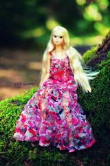 Aurora ( Lily Queens ) Tags: aurora doll momoko sekiguchi ooak custom reroot wake up wud004