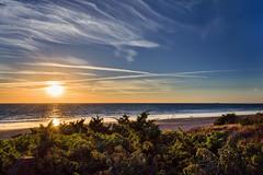 sunset in cadiz (franadag) Tags: sunset puestadesol cielo sky mar sea playa beach nubes clouds naturaleza nature sol sun cadiz andalucia espaa spain