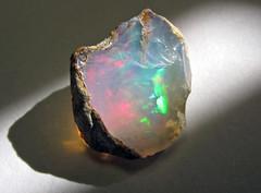 Precious opal (Shewa Province, Ethiopia) 8 (James St. John) Tags: precious opal silicate silicates mineral minerals hydrous silica shewa shoa province ethiopia