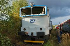 another goggle at Ceska Trebova mpd 750-042 (Karel1999 Over a Million views ,many thanks) Tags: vlak zug locomotives trains diesels ceska trebova