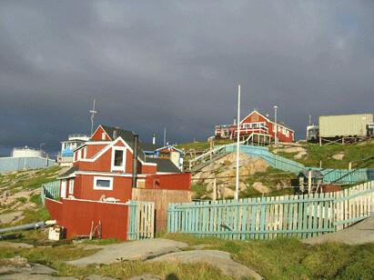 Huset vi bodde i:foto:Anne C. Silviken