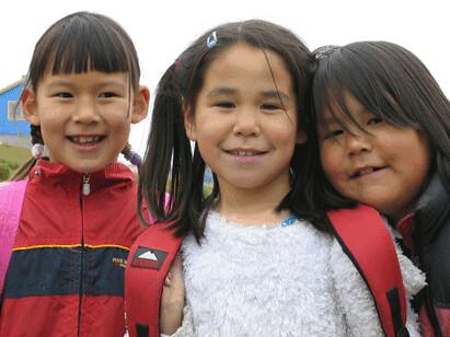 Tre jenter på Grønland