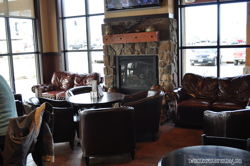 Lounge Area at Chianti Grill ~ Roseville, MN