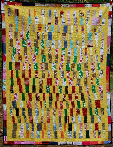 mamaka mills recycled custom quilt made from clothing 2