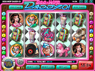 Doo Wop Daddy O slot game online review