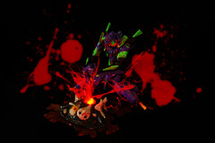 Stabbed Right Into the Heart (Jyke S) Tags: eva genesis evangelion kaiyodo  revoltech neon   evangelion