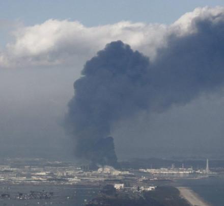 Black Smoke at Fukushima