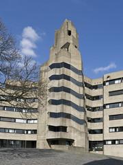 Rathaus Bensberg - Treppenturm (dolorix) Tags: architecture stair treppe staircase architektur townhall rathaus bensberg bergischgladbach gottfriedbhm treppenturm