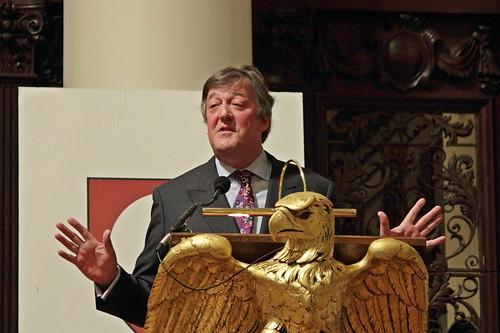 Stephen Fry by Buggs Moran