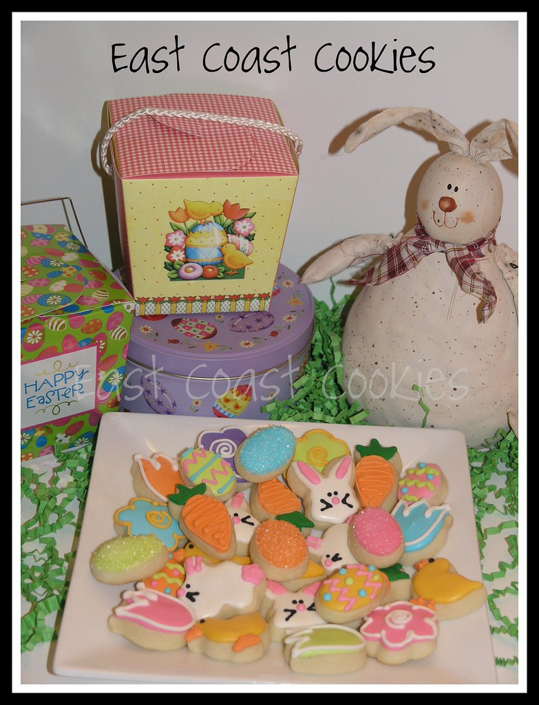 Mini Easter Cookies - 2010 Collection